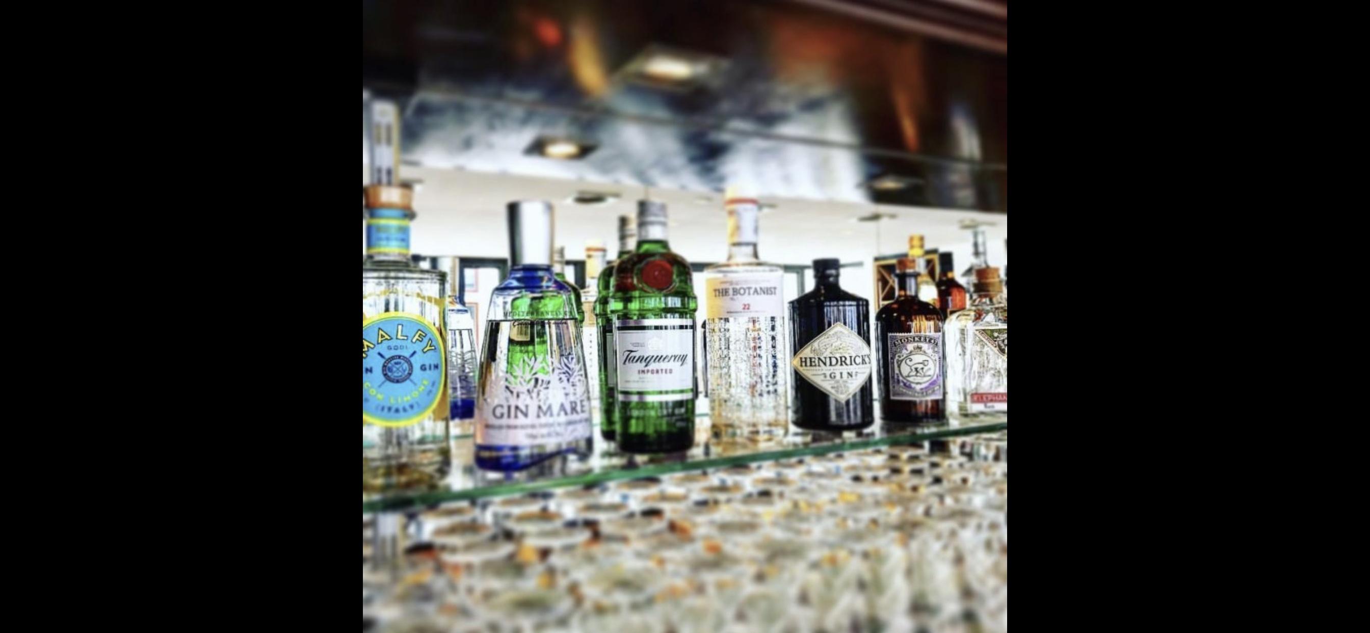 Kleine, aber feine Gin-Auswahl